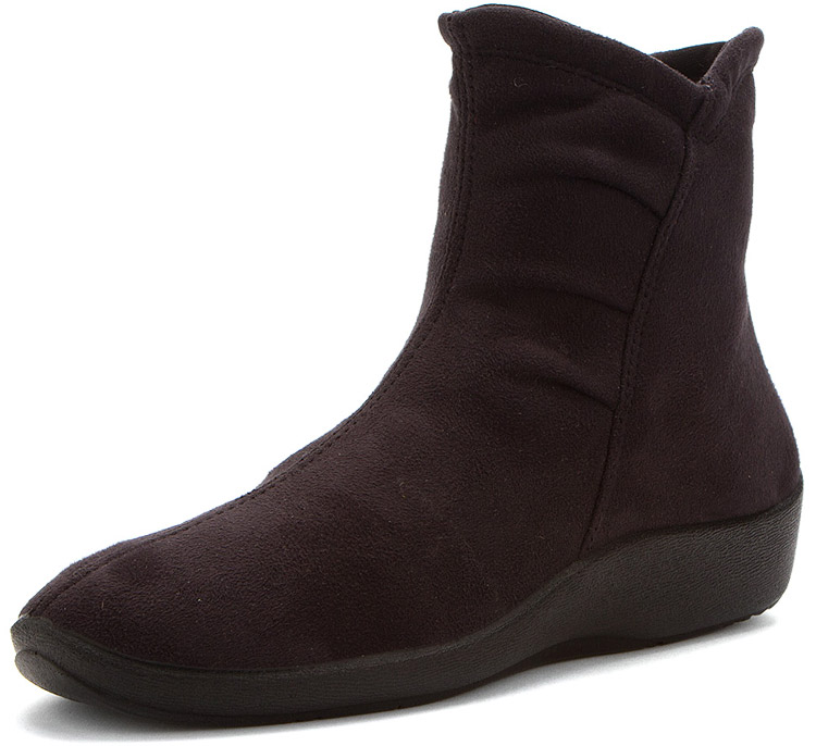 L19 Boot Black Suede