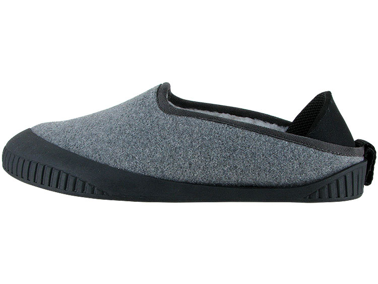Kush Classic Slipper Light Grey With Black Removable Sole