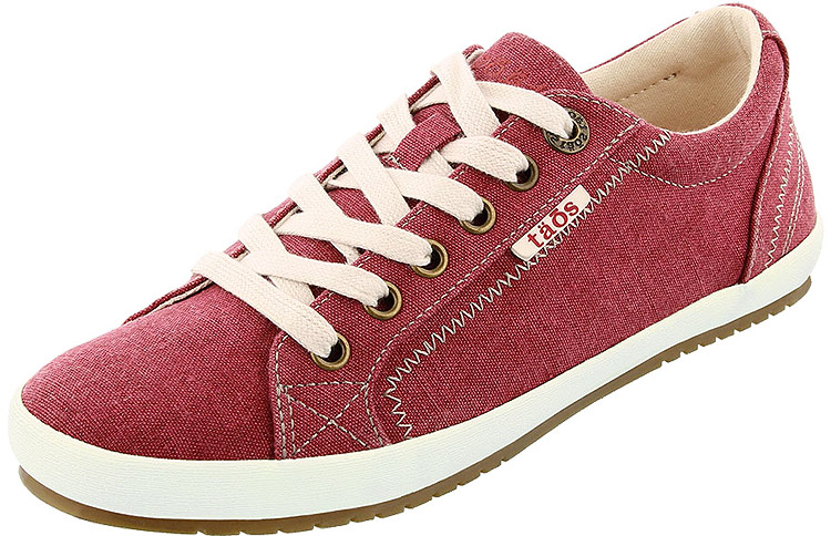 Star Ruby Red Wash Canvas