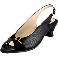 Linda Black Luminous Suede