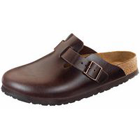 Boston Soft Footbed Brown Amalfi Leather Regular Width