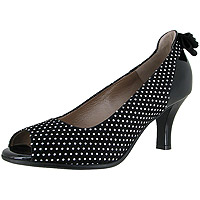 Glam 3D Mini Polka Dots Suede
