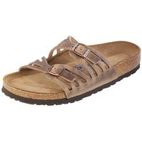 Granada Soft Footbed Tobacco Oiled Leather Narrow Width