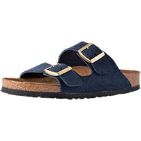 Arizona Soft Footbed Navy Suede Narrow Width