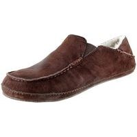 Men's Moloa Slipper Dark Java/Dark Java