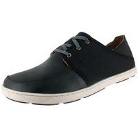 Men's Nohea Lace Leather Black/Black