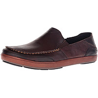 Men's Puhalu Leather Dark Wood/Toffee
