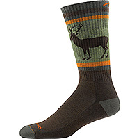 Men's Uncle Buck Boot Sock Cushion Brown
