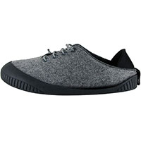 Fit Lace-Up Shoe Light Grey With Black Removable Sole