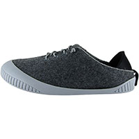 Fit Lace-Up Shoe Dark Grey With Light Grey Removable Sole