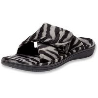 Relax Dark Grey Zebra
