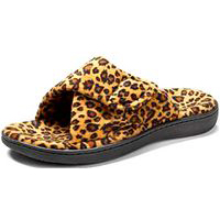 Orthaheel Relax Tan Leopard