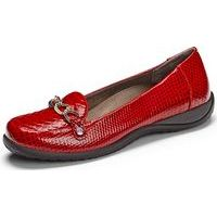Alda Red Patent