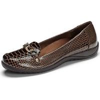 Alda Chocolate Patent Croco