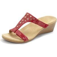 Vionic by Orthaheel Maggie Red Patent
