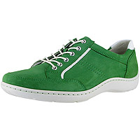 Jasmine Henni Oxford Green Nubuck