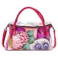 Rosy Reverie East West Flap Over Convertible Bag