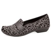 Oksana Grey Cheetah Hair Calf