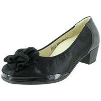 Cindy Hosana Pump Black Lizz/Patent