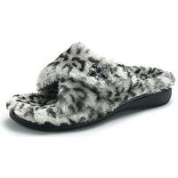 Relax Luxe Grey Leopard