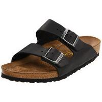 Arizona Black Oiled Leather Soft Footbed Narrow Width