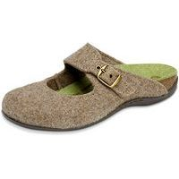 Fiesta Wool Slipper Oatmeal