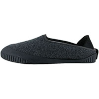 Kush Classic Slipper Dark Grey With Black Removable Sole