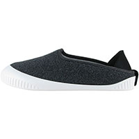 Kush Classic Slipper Dark Grey With White Removable Sole