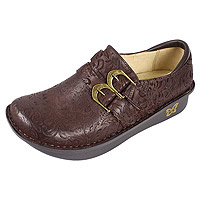 Alli Chocolate Embossed Paisley