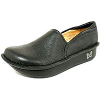 Debra Clog Black Leather