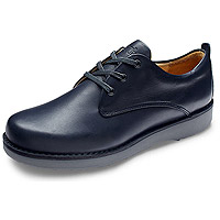 Men's Plain Toe Oxford Almost Black