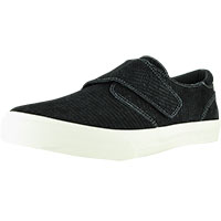 Soul Black Embossed Suede