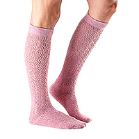 Casual Izzy Knee High Knit Rose