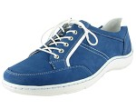 Henni Oxford Blue Nubuck