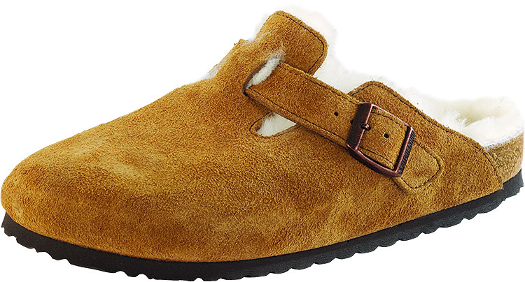 Boston Mink Suede With Shearling Narrow Width