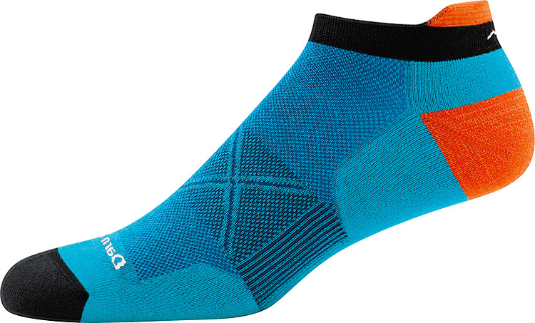 Men's Vertex No Show Tab Ultra-Light Cushion Teal