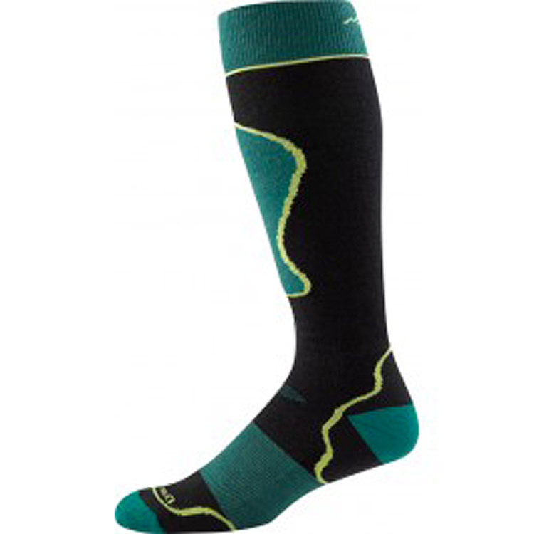 Men's Padded Over-the-Calf Cushion Black/Green