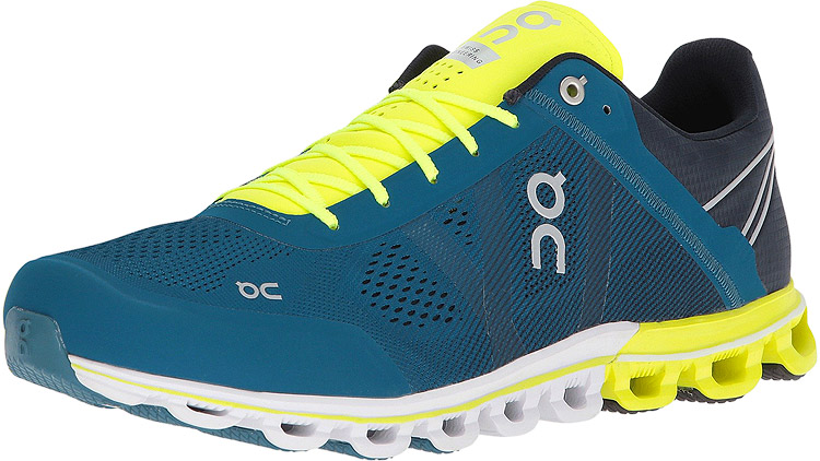 Men's Cloudflow Petrol/Neon