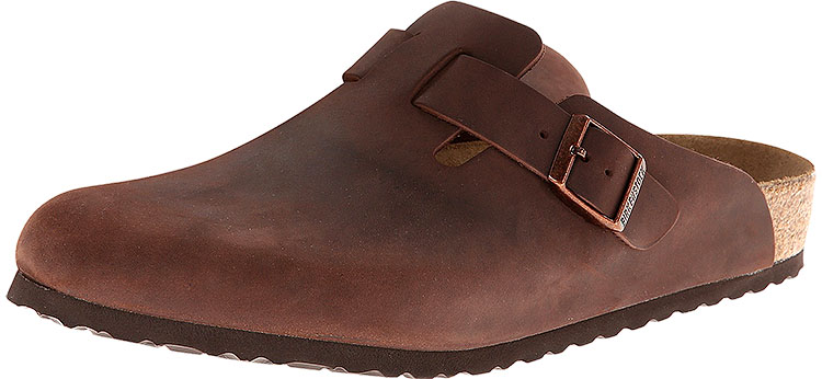 Boston Soft Footbed Oiled Leather Habana Regular Width
