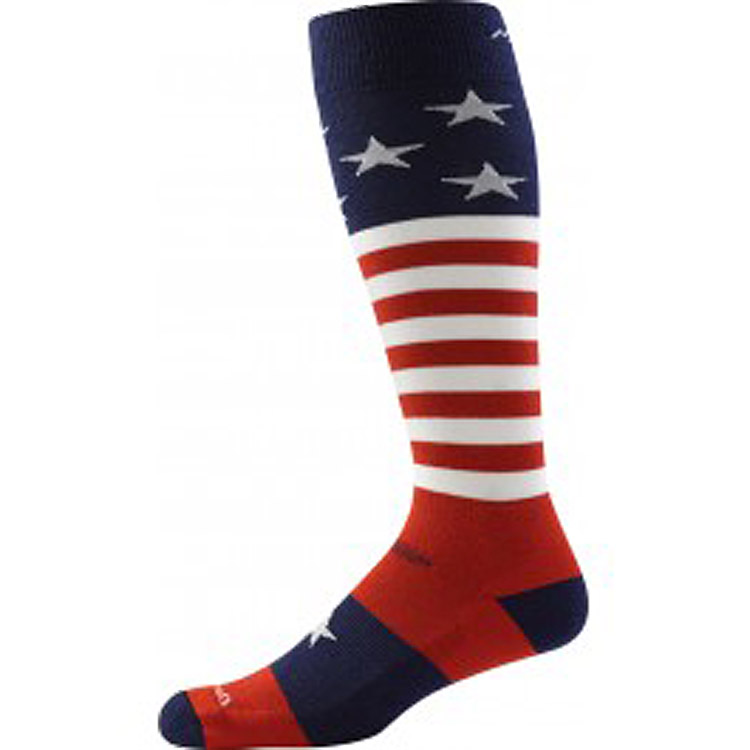 Men's Captain Stripe Over-the-Calf Cushion Stars & Stripes