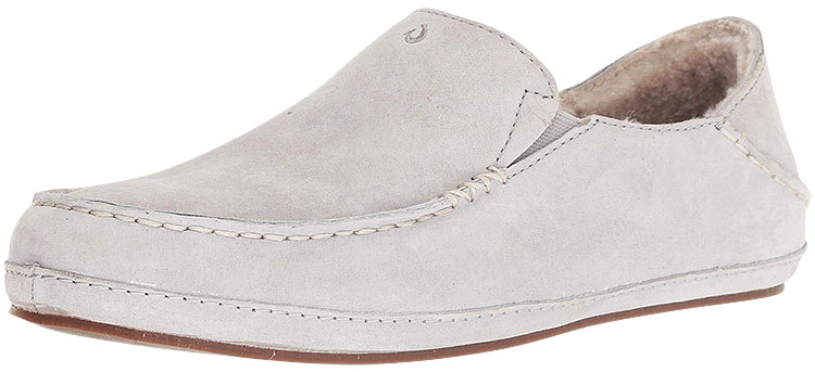 Nohea Slipper Pale Grey/Pale Grey