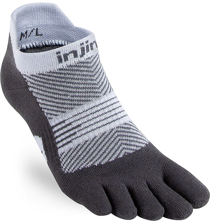 Women's Run Lightweight No-Show Gray