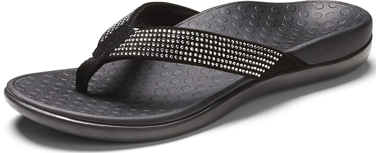 Tide Rhinestones Black