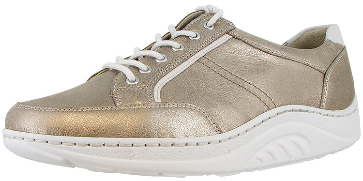 Barbara Helli Light Gold Leather