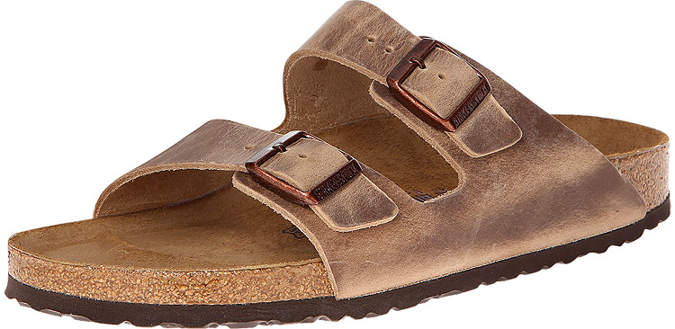Arizona Soft Footbed Tobacco Oiled Leather Regular Width
