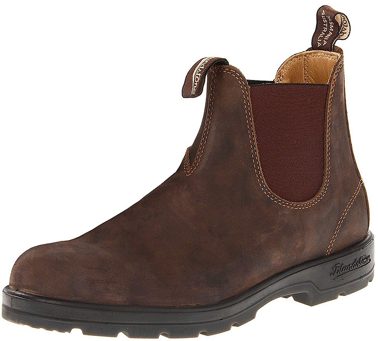 585 Brown Chelsea Boot