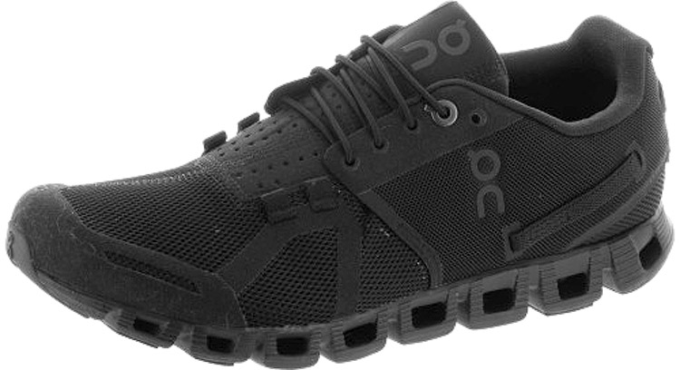 all black on cloud shoes