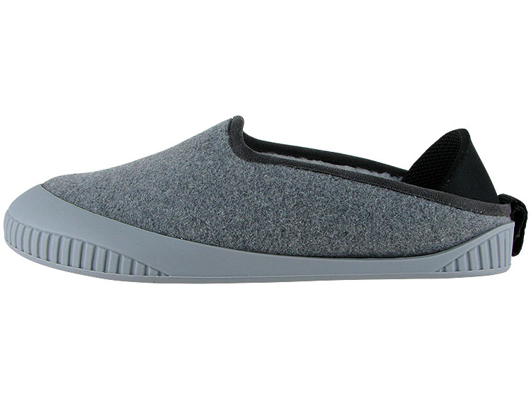 Kush Classic Slipper Light Grey With Light Grey Removable Sole