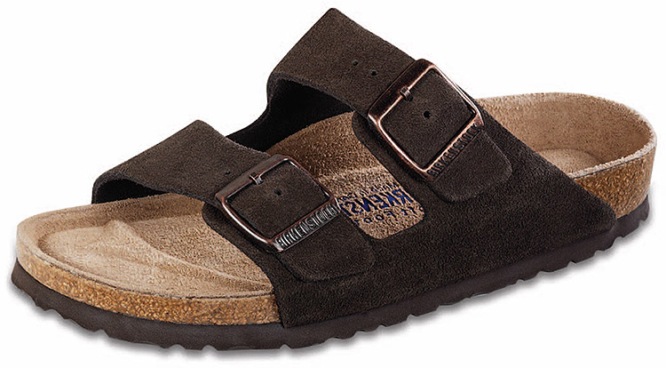 c6b732d9189 Birkenstock Arizona Soft Footbed Mocha Suede Regular Width - Sole Provisions