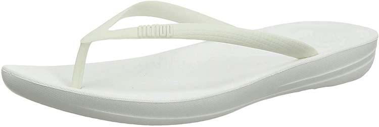 Iqushion Ergonomic Flip-flops Urban White